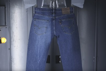 Levi Strauss takes denim finishing into the digital era