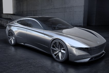 No, its not a four-door Ferrari: Hyundais Le Fil Rouge concept heralds 'sensuous sportiness' for all future models
