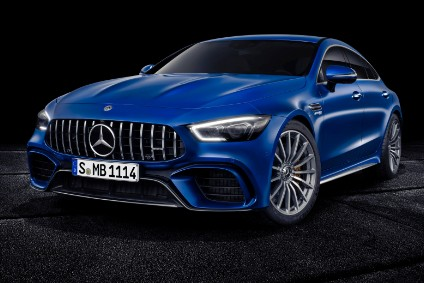 Mercedes-AMG GT Coupé, looks like a fastback but is a sedan