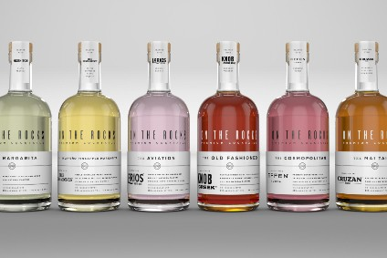 Beam Suntory targets high-end on-premise, HORECA with On the Rocks pre-mixed tie-up