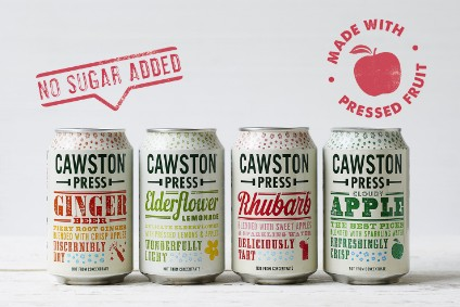 Cawston Press drops added sugar to beat UK levy, attacks artificial sweeteners