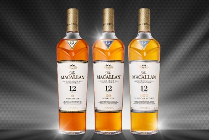 The new look for The Macallan will launch globally in April