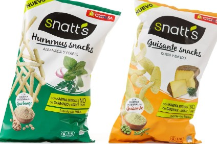 Grefusa has added vegetable crisps to core range