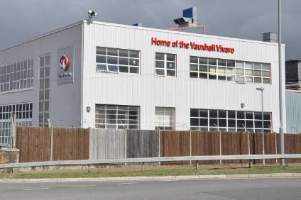 Good news for the Vauxhall van plant at Luton this week. The adjacent former car plant  complex was demolished years ago