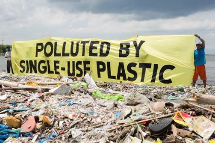 Greenpeace - seeking a pledge on single-use plastic.