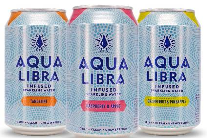 The new Aqua Libra range contains no added sugars and has three calories per can