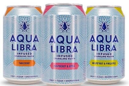 The new Aqua Libra range contains no added sugars and has three calories per can