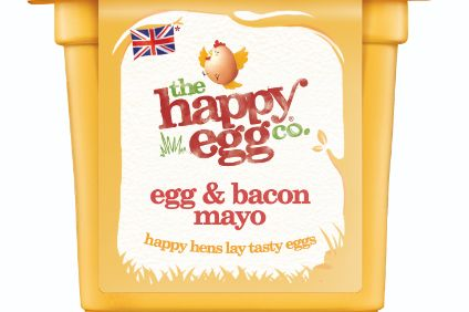 The new Happy Egg Co. sandwich filler.