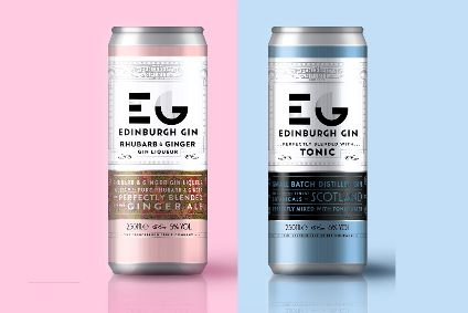 Ian Macleods Edinburgh Gin RTD range is initially available in Tesco
