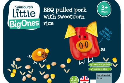 Sainsburys baby food range; Kraft Heinz launches Jif Jaf biscuits for China; Mentos goes sugar-free with Stay Free mints; Perky Jerky moves into pork