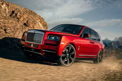 A Rolls-Royce Cullinan EV is not out of the question