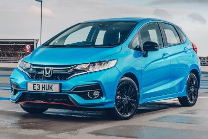 Facelift, gloss black 16 wheels and a fresh range of colours transform the Jazz