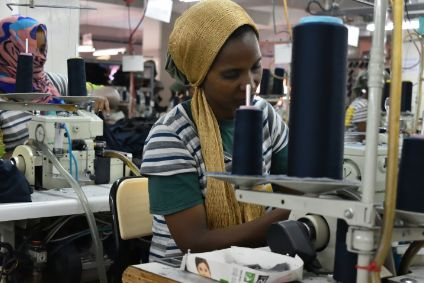 The Ethiopian government is realising a vision to transform the country into a leading apparel and textile hub