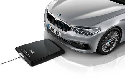 The charging mat means no trailing wires from the car