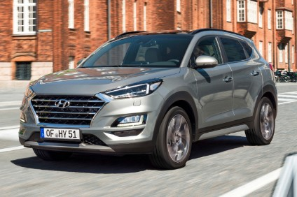 Tucson gains a 48V diesel mild hybrid powertrain option for its 2018 mid life update