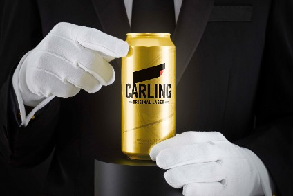 Molson Coors said 100 golden cans will be hidden inside Carling multi-packs