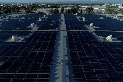 The solar array at American Hondas Torrance, California campus