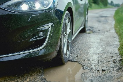 Pothole detection is part of the optional Continuously Controlled Damping technology