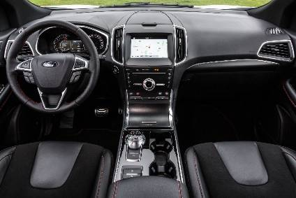 Interior Design And Technology Ford Edge Automotive