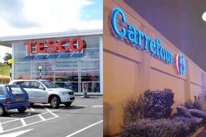 Tesco, Carrefour eye lower prices with buying pact
