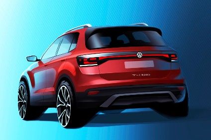 Volkswagen Said Its T Cross Small Suv Shown As A Study At The 2016 Geneva Show Will Be Launched In Europe Next Autumn