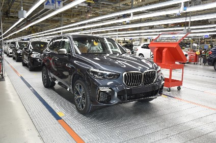 BMW so far plans SUV building business as usual at its Spartanburg plant, 200 miles inland in South Carolina