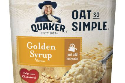 PepsiCo cuts sugar from Quaker cereals in UK