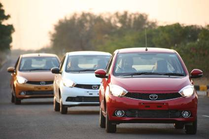 Tata Motors Sanand plant is making the Tiago and Tigor small cars; the Nano model is still officially made at the plant but is  close to being discontinued