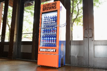 Smart fridges give away free Bud Light with Cleveland Browns' win