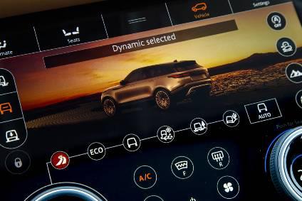Interior Design And Technology U2013 Range Rover Velar | Automotive Industry  Analysis | Just Auto