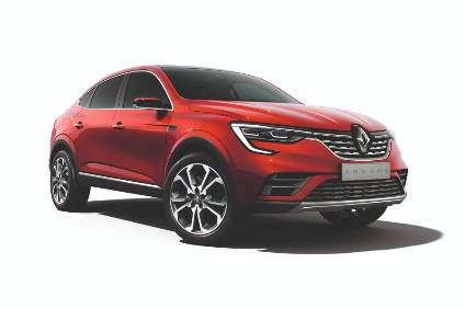 Renault is targeting Russian consumers with the distinctive Arkana