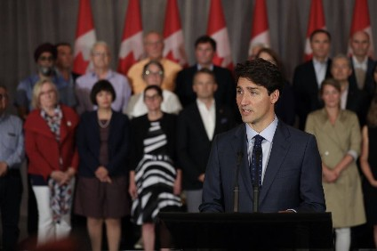 Trudeau standing firm on Canada