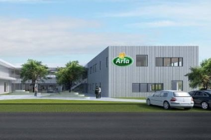 A computer generated image of Arlas planned innovation centre.