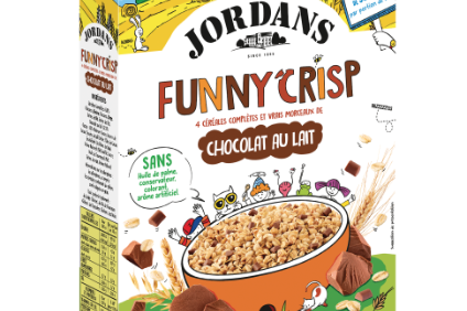New Products - ABFs Jordans launches healthy childrens cereal Funny Crisp in France; Farmwise creates Chicken Veggie Nuggets and Tenders; Barilla leans to plant-based with chickpea, lentil pasta in US; Dairy Crest reformulates Clover Light
