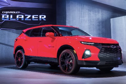 Blazer will be added in 2019, positioned between the Equinox and Traverse