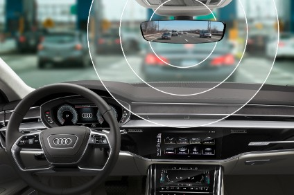 Built-in toll transponder in e-tron is a claimed Audi first