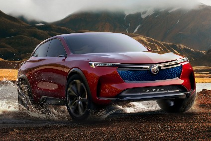 Is the Enspire concept a sneak peak at a fully electric Buick crossover?