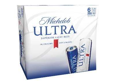 Anheuser-Buch InBevs Michelob Ultra will be the test brand for the low-carbon cans