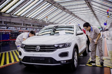 VW has doubled capacity at one Chinese plant. There are now 23 across the giant market