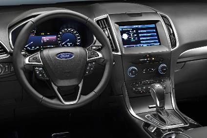 Interior design and technology – Ford S-Max | Automotive Industry ...