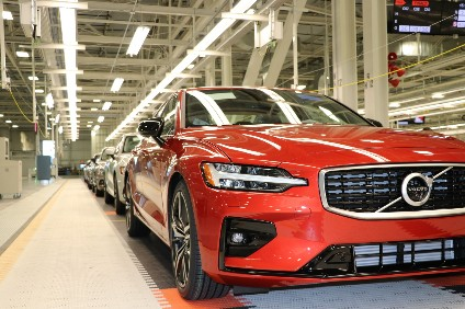 Us Made Volvo Cars Now Coming Off Line Automotive Industry News