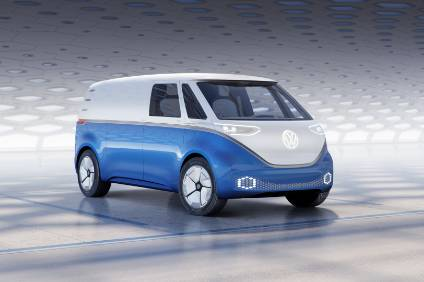 A bit of Bulli - the new ID Buzz Cargo electric van concept previews a model that VW plans to get to market as early as 2021
