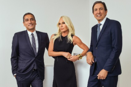 Jonathan Akeroyd, Donatella Versace, and John Idol