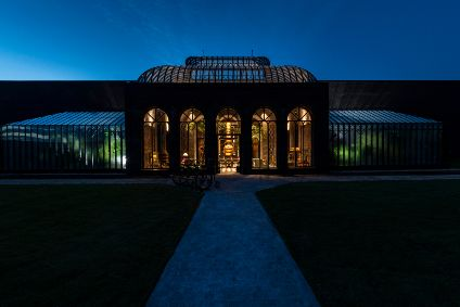 The expanded Hendricks distillery includes two botanical hot houses