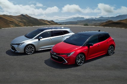 European Auris is now called Corolla again - Derby built hatch and wagon will have 1.2 petrol or 1,8 and 2.0 hybrid powertrains. Sedan will be added, supplementing Turkey