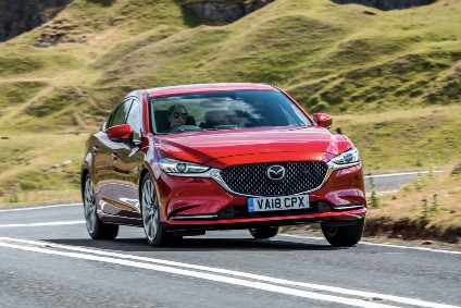 Unusually for a Mazda, the 6 has had a second facelift