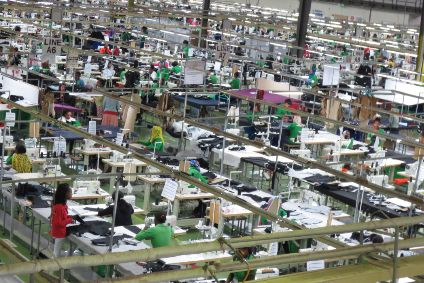 Are huge manufacturing factories, such as this operation in Ethiopia, under threat?