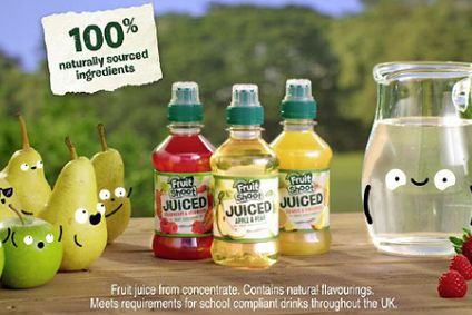 Britvic's Fruit Shoot Juiced makes UK TV debut