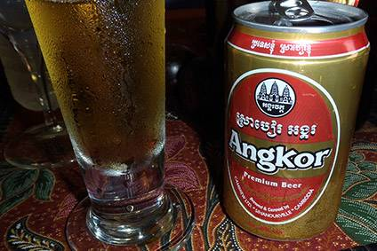 Carlsberg and Heineken in Cambodia - What just-drinks thinks