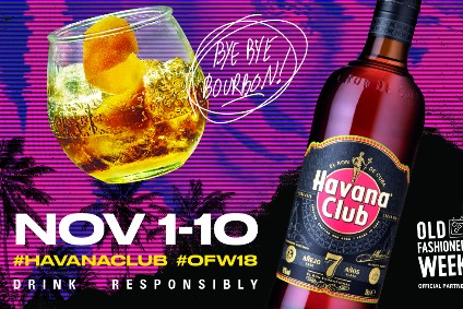 Pernod Ricard to build Havana Club rum  profile during Old Fashioned Week